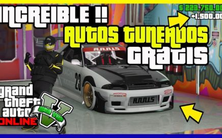 "TRUCO COMO CONSEGUIR AUTOS GRATIS !! INCREIBLE !! ""GTA V ONLINE"" [ PS4 - XBOX ONE -PC ]"