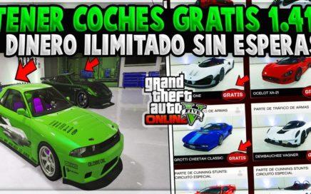 """TRUCO DE COMO TENER COCHES GRATIS Y DINERO ILIMITADO EN EL GTA V ONLINE SIN ESPERAS 1.41 """"FUNCIONA"""""""