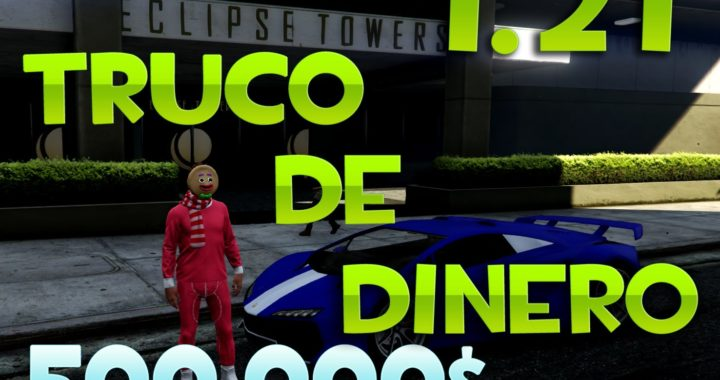TRUCO GANAR DINERO RAPIDO 1.26 || GTA V ONLINE || HD-60FPS || XBOX ONE & PS4 || ELlopes100