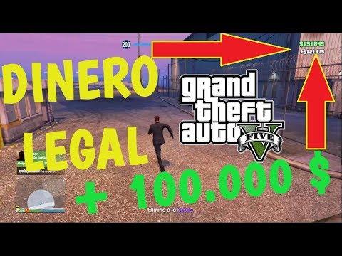 TRUCO PARA GANAR DINERO LEGAL GTA V PS4 1.40 - GTA V ONLINE