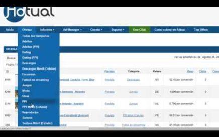 Tutorial CPA Ganar dinero con Adtual internet Dinero facil 1000 dolares al mes ACTUALIZADO 2015