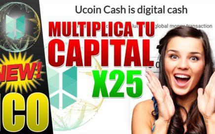 UCOIN CASH PRESENTACION Y TUTORIAL ESPAÑOL ICO UCOINCASH