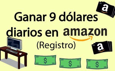 9  dolares diarios, Registrarse En Amazon Associates Para Ganar Dinero