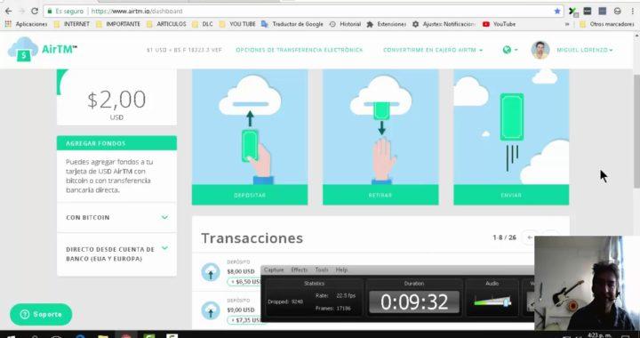 AirTm como funciona | Cambiar Dolares a Bolívares o a otra moneda | Retirar, Cargar dinero con airtm
