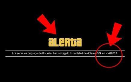 *ALERTA* ROCKSTAR QUITA DINERO EN GTA 5 ONLINE POR ESTO!?