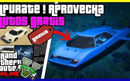 """APURATE!! CONSEGUIR TODOS LOS AUTOS GRATIS DE """"GTA V ONLINE"""" FACIL 1.42"""
