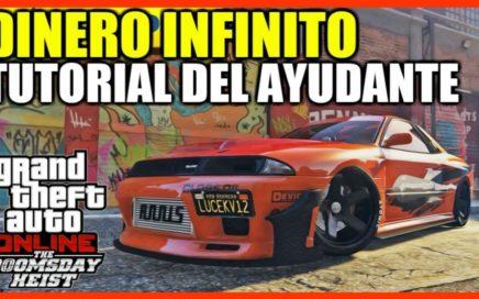 *AYUDANTE* TRUCO DINERO INFINITO SUPER FÁCIL 1.42 [DUPLICAR AUTOS DE LUJO] | GTA 5 ONLINE