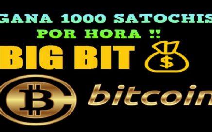 BIGBIT.ME | GANA 1000 SATOCHIS POR HORA - HERMANA FAUCETPIG + $10.00 GRATIS EN COINBASE