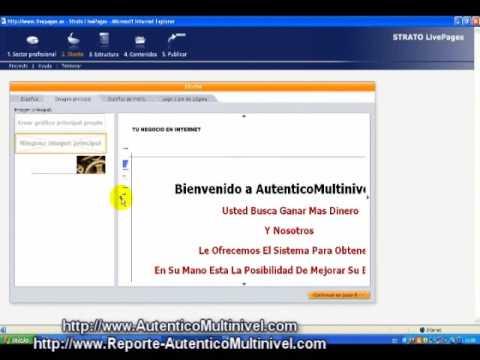 Capitulo IX Creando Tu Propia Web - Sistema Para Ganar Dinero Extra En Internet