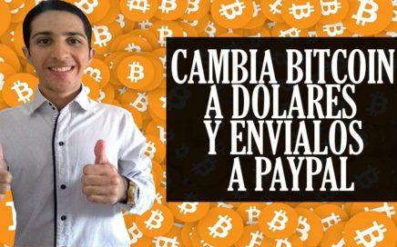 Como Cambiar Bitcoin a Dolares y Enviarlos a Paypal con Uphold y AirTM