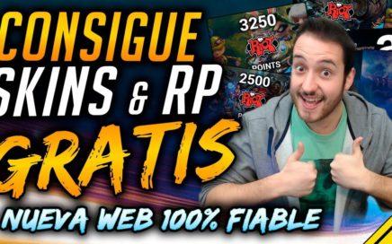 Cómo CONSEGUIR SKINS y RIOT POINTS GRATIS para League Of Legends ¡Nueva página XY Gaming!