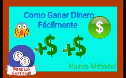 Como Ganar Dinero desde tu Móvil /Fácil /Android / Nuevo Método - Descarga En La Descripcion
