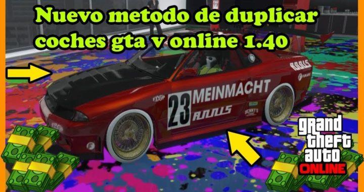 Como  ganar dinero en gta v online 1.40 duplica de coches sin garage de oficina y sin opressor