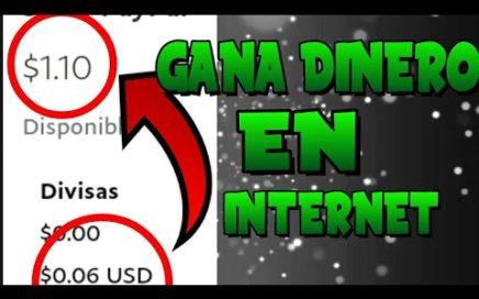 Como ganar dinero por internet/paypal fácil y rápido