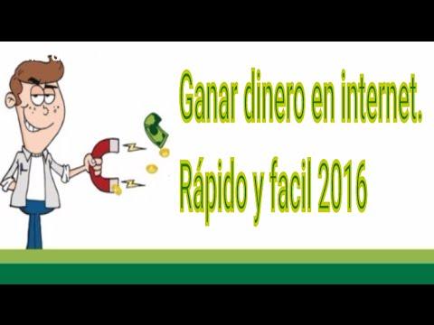 Como Ganar Dinero Por Internet Y Cobrar Al Instante 2016