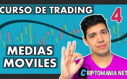 CRIPTOMONEDAS: PREDECIR EL PRECIO - [MEDIAS MÓVILES] - Curso de trading CLASE #4