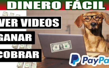 DINERO FACIL POR VER VIDEOS EN INTERNET + Comprobante Paypal  SKYLOM TUTORIAL
