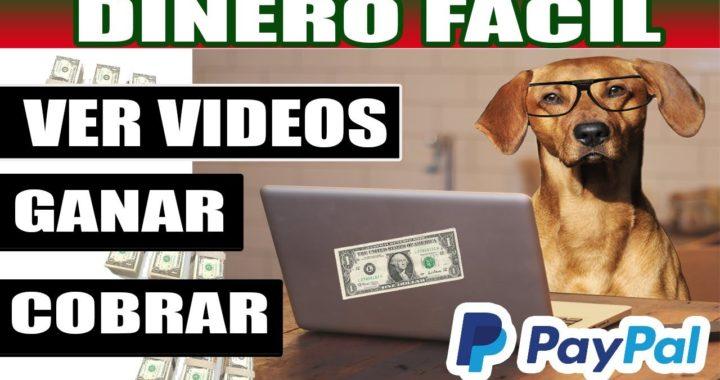 DINERO FACIL POR VER VIDEOS EN INTERNET + Comprobante Paypal |SKYLOM TUTORIAL