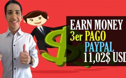 Earn Money 3er PAGO [11,02$ USD] Gana Dinero a Paypal con tu PC Encendida.
