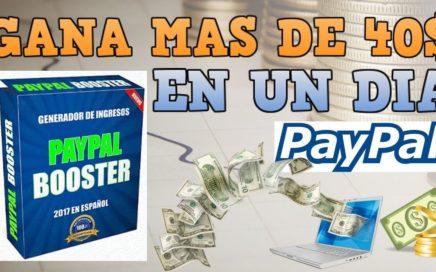 Gana Dinero En Automatico Con Paypal Booster A Tu Cuenta Paypal