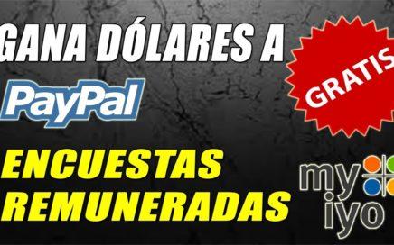 Gana Dinero Gratis a Paypal con Encuestas Gratuitas   Myiyo Tutorial   Gokustian