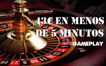 Ganar 43€ En La Ruleta En 5 Minutos   GAMEPLAY   RULETA   2016 - 2017
