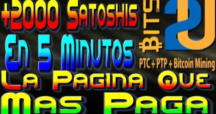 Ganar Bitcoin GRATIS!! 200 Satoshis Por Click +Poder De Minado Gratis