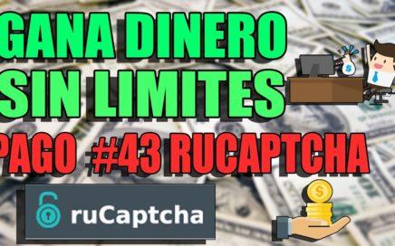 GANAR DINERO SIN LIMITE DE TIEMPO! RUCAPTCHA! PAGO #43 !