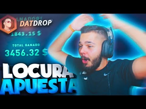 ¡GANO UNA APUESTA DE +3.400$! ¡BATALLA DE SKINS PUBG!   DATDROP