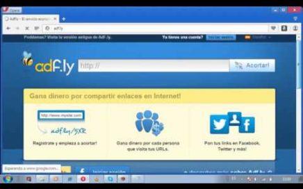 hack de adfly en un dia y ganar dinero en paypal  2017 actualizado
