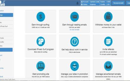 Ipweb.ru| Gana Dinero con tus redes sociales + Comprobante de pago