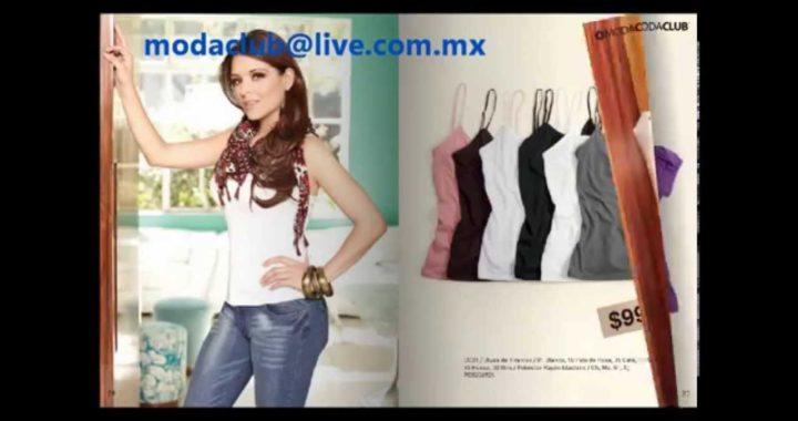 Moda Club Venta por catalogo Basicos 2012