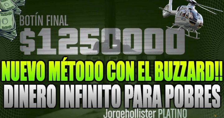 NUEVO PACIFIC STANDARD CON BUZZARD 1.41 | TRUCO DINERO INFINITO (PS4/XBOX ONE/PC) | GTA 5 ONLINE