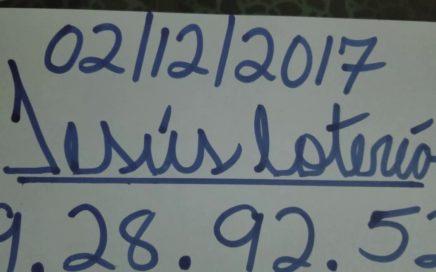 NÚMEROS PARA HOY 02/12/17 DE DICIEMBRE PARA TODAS LAS LOTERÍAS  !!!