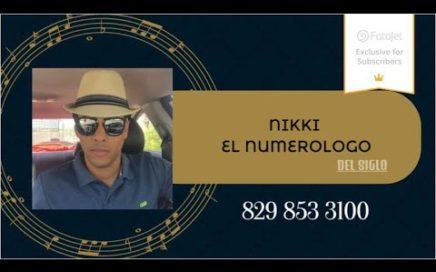 NÚMEROS PARA HOY 21/12/17 DE DICIEMBRE - NIKKI EL NUMEROLOGO DEL SIGLO