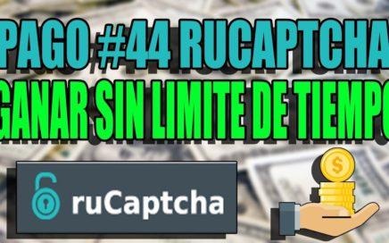 PAGO #44 RUCAPTCHA, AHORA PAGA MAS, GANAR SIN LIMITES