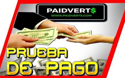 Paidverts Sigue Pagando Prueba De Pago [ Como Ganar Dinero Por Internet ]