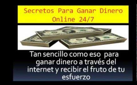 Secretos Para Ganar Dinero online