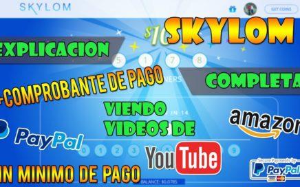 SKYLOM, Explicación Completa + Comprobante De Pago (Baymack Snuckls) Como Ganar Dinero Viendo Videos