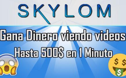 SKYLOM|Gana dinero viendo vídeos con la hermana de snulcks y baymack