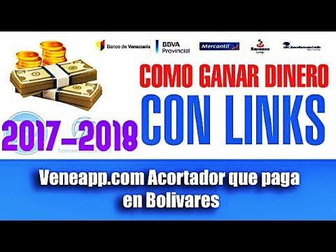 Veneapp | Acortador de Enlaces que paga en Bolivares GANA DINERO VENEZUELA 2017