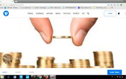 Viuly Como configurar esta pagina para subir videos y ganar dinero gratis