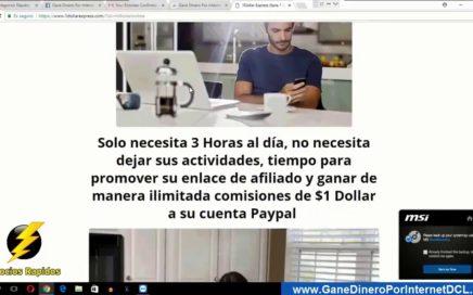 1 Dollar Express Ganar Dinero Por Paypal 2018 Tutorial