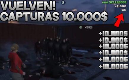 10.000$ POR BAJA VUELVEN LAS CAPTURAS DINERO INFINITO1.42/ Creator:LispyLeaf