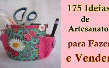 175 Ideias de Artesanato para Fazer e Vender