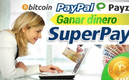 1º PAGO SUPERPAY GANA DINERO A PAYPAL GRATIS 2018