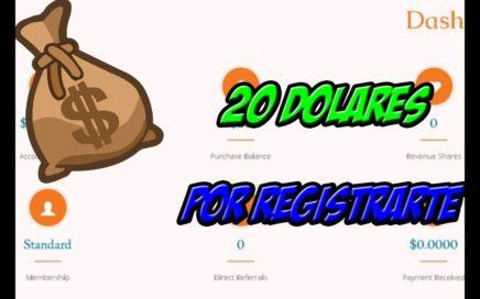20 DOLARES POR REGISTRARTE PRELANZAMIENTO - NUEVA PÁGINA