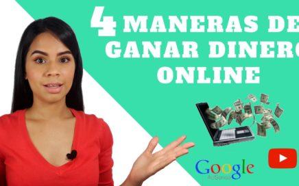 4 Maneras de ganar dinero pasivo por Internet | Genera dinero desde tu casa