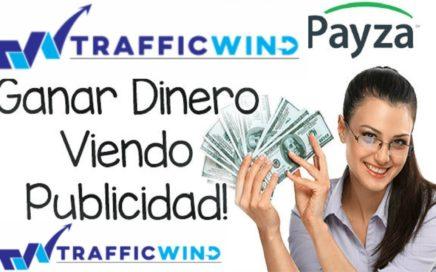 6.40$ DÓLARES TRAFFICWIND PAGO / INFORMACIÓN IMPORTANTE 6 ENERO 2018