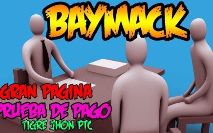 Baymack 2018 Gana Hasta 1000 Dolares por ver vídeos de Youtube | Baymack Estrategia y Tutorial